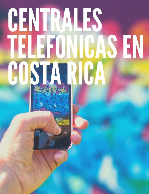 Centrales telefónicas en costa rica