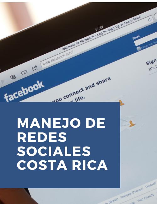 Manejo de redes sociales costa rica